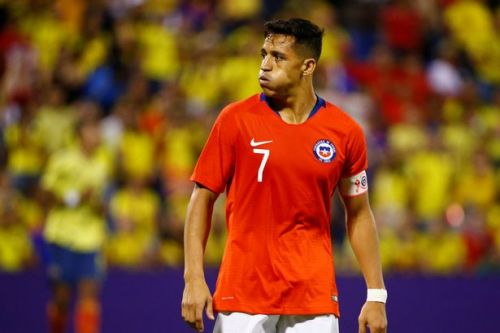 Alexis Sanchez facing three months out as Chile coach confirms extent of ankle injury