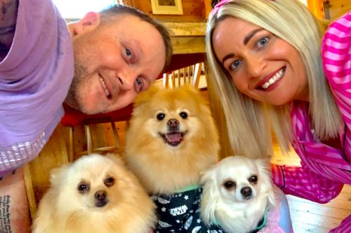 Scots couple decide not to have children so they can pamper dogs with £20k luxury lifestyle