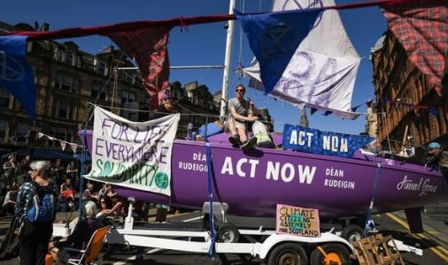 UK grinds to a halt as Extinction Rebellion 'uprising' blocks traffic in five cities