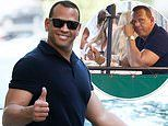 Alex Rodriguez puts on a smile as he dines alone in New York City amid JLo and Ben Affleck reunion
