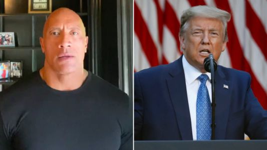 Dwayne Johnson rips into Donald Trump for response to George Floyd protests: 'Where is our leader?'