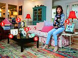 My haven, Lesley-Anne Down: The actress, 66, in her sitting room in Georgia