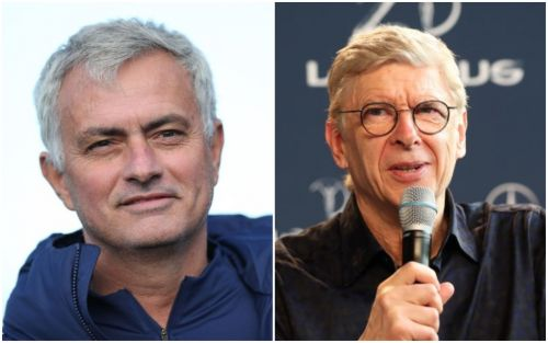 Jose Mourinho aims dig at Arsene Wenger for leaving him out of his new autobiography