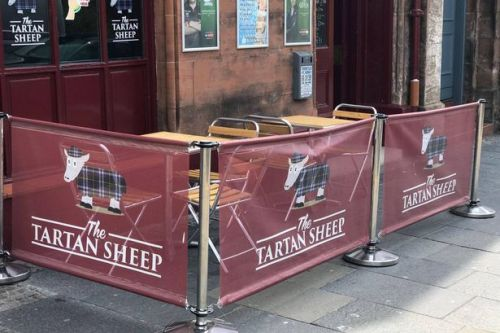 Kilmarnock pub to open beer garden with 'capacity of approximately one'