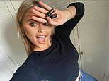 Emily Atack moans she 'can't squeeze my fat a**e into skinny jeans' after one stone weight loss