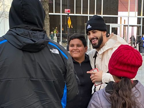 A day with YouTube prankster Adam Saleh proved that the internet's A-listers have reached celebrity status