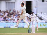 BUMBLE ON THE TEST: Jimmy Anderson taking gladiator Virat Kohli's wicket was pure theatre