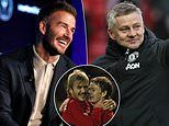 David Beckham praises Man Utd boss Solskjaer and says he is acting like Sir Alex Ferguson