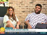 Katie Price's son Harvey SWEARS live on Good Morning Britain after light FALLS onto the pair