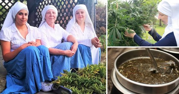 Meet the nuns who rake in $1,000,000 a year growing and selling cannabis