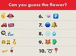 Are YOU a gardening guru? Tricky emoji quiz challenges puzzlers to name the popular types of flowers