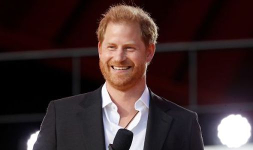 Prince Harry given special mention as choir leader honoured by Princess Anne