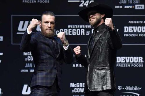 How to watch McGregor v Cowboy UFC 246 live stream in the US and UK