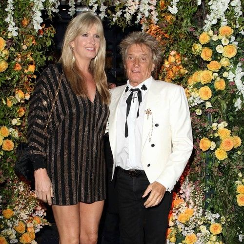 Rod Stewart reunites with his ex-wives for daughter's 40th birthday