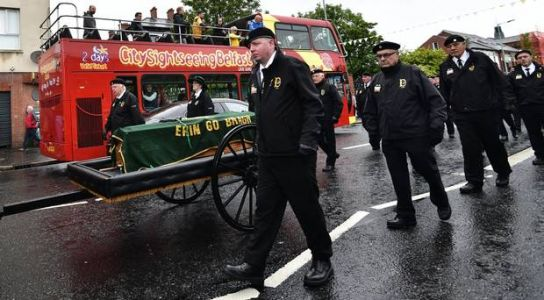 Veteran IRA man Billy McKee 'unrepentant', mourners told at funeral