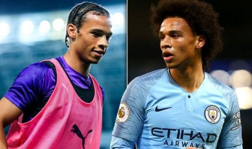 Leroy Sane drops Bayern Munich transfer hint to Raheem Sterling in Man City training video