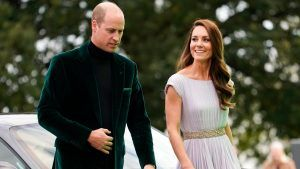 Kate Middleton and Prince William were spotted 'snogging' backstage at The Earthshot Prize awards ceremony