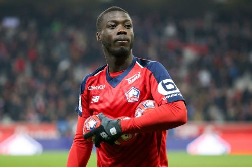 Liverpool and Arsenal submit offers to sign Lille winger Nicolas Pepe