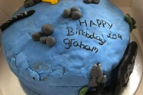 Woman shocked as 'professional' birthday cake looks like it was 'made by child'