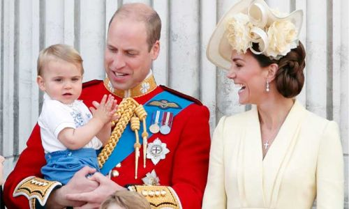 Prince William and Kate Middleton share previously unseen photo of Prince Louis with royal fans