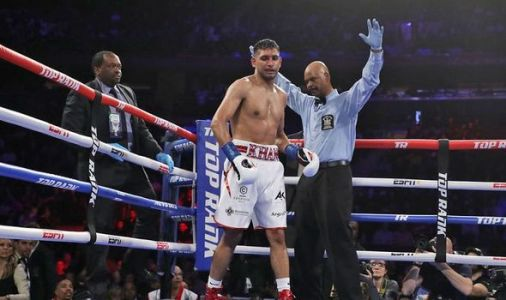 Boxing news: Amir Khan SLAMMED by fans after Terence Crawford controversial low blow loss