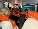Nearly 400 passengers are evacuated after ferry runs aground in Costa Blanca port