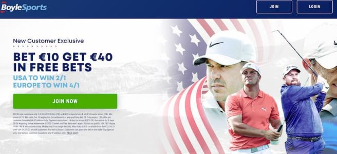 2021 Ryder Cup: Outright Betting Tips + Bet £10 Get £40 at BoyleSports