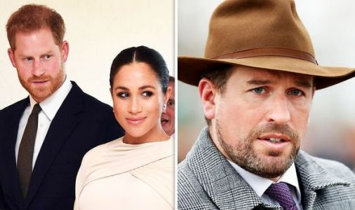 Meghan and Harry receive stark warning over Peter Phillips' 'wrong moves' outside Firm