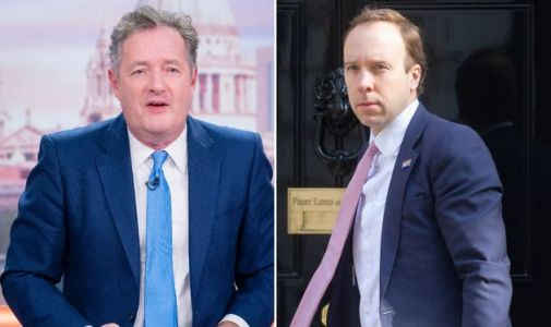 Piers Morgan Blasts Matt Hancock For 'Sneaking Back Onto ITV' Now He's On Holiday