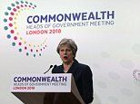 Theresa May says Britain will compensate Windrush immigrants