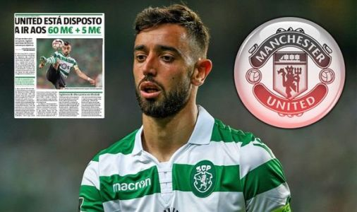Man Utd and Sporting approach Bruno Fernandes transfer agreement with deal due in hours