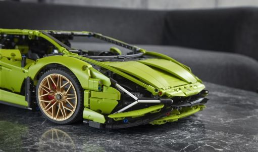This Lamborghini hypercar is getting the Lego Technic treatment