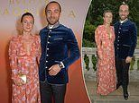 James Middleton and fiancée Alizee Thevenet attend Bvlgari Magnifica Gala dinner at Spencer House