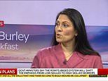 Priti Patel insists it's 'about time British businesses invest in British workers'