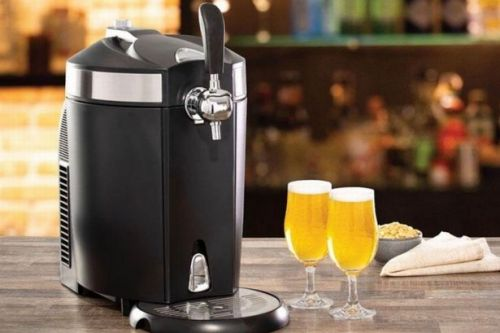 Morrisons selling draught beer machine so you can pull your own pints at home