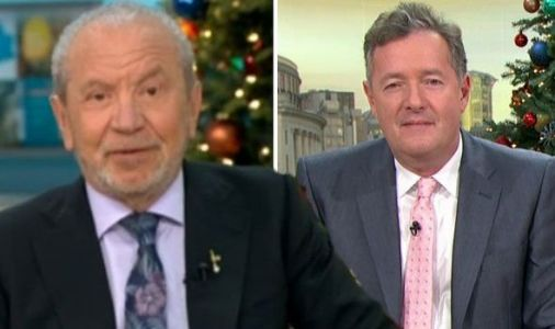 ITV Good Morning Britain: Piers Morgan forced to apologise as Lord Sugar SWEARS on air