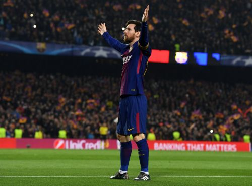 Video: Lionel Messi addresses the Camp Nou for the first time as Barcelona captain