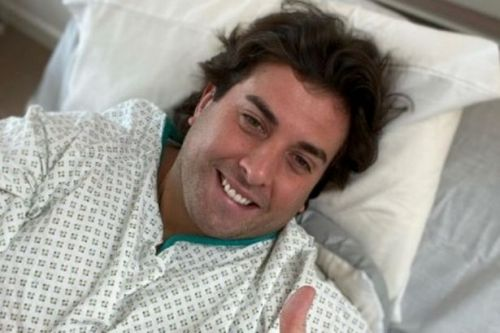 James Argent teases 'new chapter' with hospital snap after life-saving operation