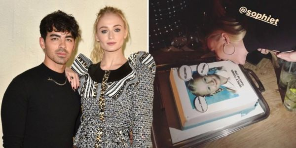 Game Of Thrones star Sophie Turner 'ruins' her cake as she celebrates 24th birthday in Paris