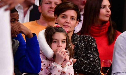 Katie Holmes divides fans with latest news during lockdown with daughter Suri