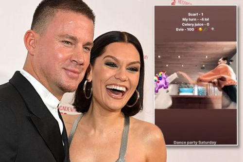 Jessie J has a dance party with Channing Tatum's daughter, 6, in hilarious clip