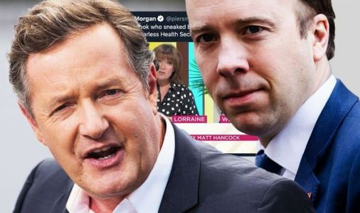 Piers Morgan confronts Matt Hancock for 'sneaking' back onto ITV when he left the country