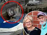 Elderly woman, 76, and her husband, 78, are rescued after their car was sent into a canal