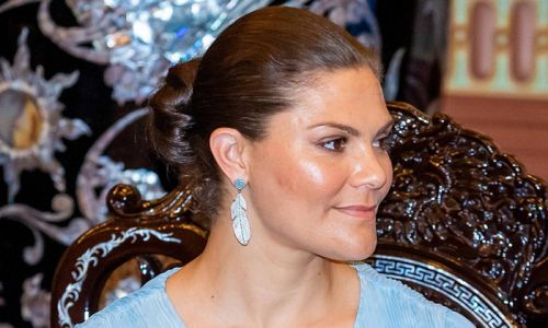 Crown Princess Victoria rocks fairytale H&M gown in new palace photos