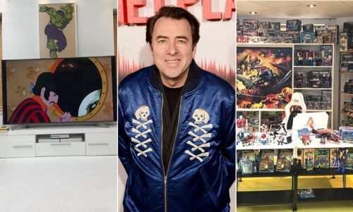 Jonathan Ross' quirky London home is a world of fun