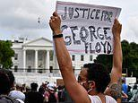 White House goes into lockdown amid countrywide demonstrations over the death of George Floyd