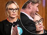 The Apprentice's Michelle Dewberry is consoled by boyfriend as her Brexit Party bid ends in defeat
