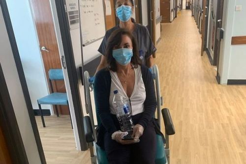 Strictly Come Dancing judge Shirley Ballas rushed to hospital with broken ankle