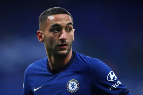 Frank Lampard reveals issue with Hakim Ziyech in Chelsea training