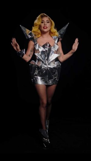 Lady Gaga revisits the meat dress and more iconic looks for a voting PSA